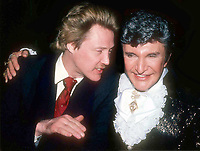 Christopher Walken and Liberace 1985<br /> Photo By Adam Scull/PHOTOlink.net