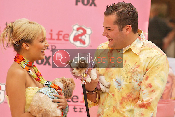 Nicole Richie and Ross Mathews
