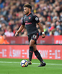 Alex Oxlade-Chamberlain of Arsenal during the premier league match at the Britannia Stadium, Stoke. Picture date 19th August 2017. Picture credit should read: Robin Parker/Sportimage