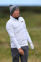Matthew Fitzpatrick (ENG) on the 16th during Round 3 of the Alfred Dunhill Links Championship 2019 at St. Andrews Golf CLub, Fife, Scotland. 28/09/2019.<br /> Picture Thos Caffrey / Golffile.ie<br /> <br /> All photo usage must carry mandatory copyright credit (© Golffile | Thos Caffrey)