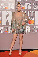 Katy Perry <br /> The Brit Awards at the o2 Arena, Greenwich, London, England on February 22, 2017.<br /> CAP/PL<br /> &copy;Phil Loftus/Capital Pictures /MediaPunch ***NORTH AND SOUTH AMERICAS ONLY***