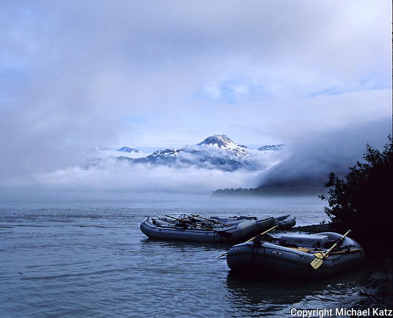 Rafts, Tatshenshini River