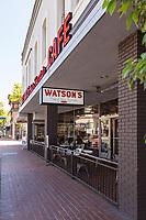 Watson's Soda Fountain & Cafe on E. Chapman Ave