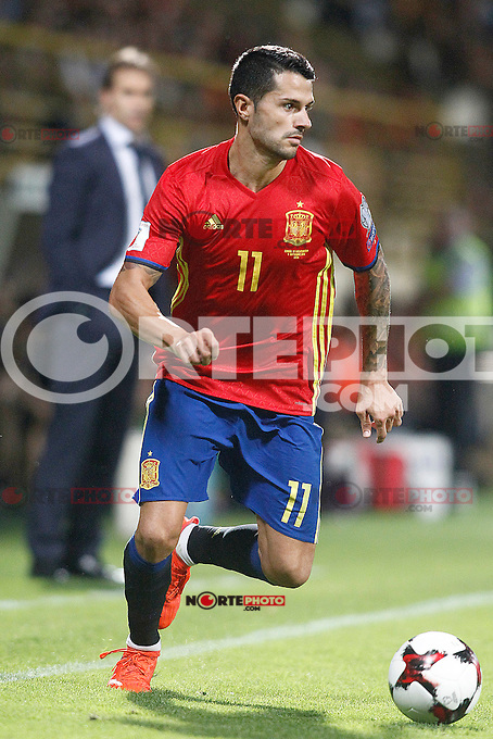 Spain's Vitolo during FIFA World Cup 2018 Qualifying Round match. September 5,2016.(ALTERPHOTOS/Acero) /NORTEPHOTO