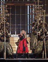 Madonna lauch her Rebel Heart tour, September 8, 2015 at Bell centre in Montreal, Canada.