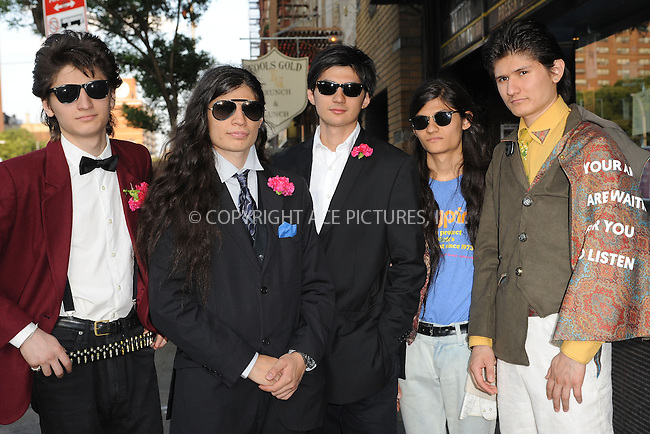 WWW.ACEPIXS.COM<br /> June 9, 2015 New York City<br /> <br /> Govinda Angulo,Bhagava, Angulo,Mukunda Angulo,Krsna Angulo and Narayana Angulo attending a screening for 'The WolfPack' at The Sunshine Landmark Cinema on June 9, 2015 in New York City.<br /> <br /> Please byline: Kristin Callahan/ACE<br /> Tel: (646) 769 0430<br /> e-mail: info@acepixs.com<br /> web: http://www.acepixs.com