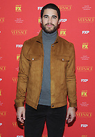 NEW YORK, NY - December11:  Darren Criss attends 'The Assassination Of Gianni Versace: American Crime Story' New York Screening at Metrograph on December 11, 2017 in New York City. Credit: John Palmer/MediaPunch /nortephoto.com NORTEPHOTOMEXICO