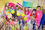 PYJAMA DAY: Staff and children at the Killorglin Family Resource Childcare Centre took part in the National Pyjama Day on Friday, in aid of the Irish Hospice Foundation Hospice Homecare for Children Programme.