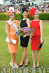 Pictured at Killarney Races Ladies Day on Thursday are Rose of Tralee, Tara Talbot, Queen of Fashion, Ciara Kelly and Yvonne Keating.
