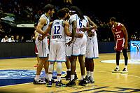 GRONINGEN - Basketbal, Donar - Benfica, voorronde Chamions League, seizoen 2019-2020, 20-09-2019, teamoverleg