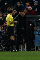 20.01.2013 SPAIN -  La Liga 12/13 Matchday 20th  match played between Atletico de Madrid vs Levante Union Deportiva (2-0) at Vicente Calderon stadium. The picture show  Diego Pablo Simeone coach of Atletico de Madrid