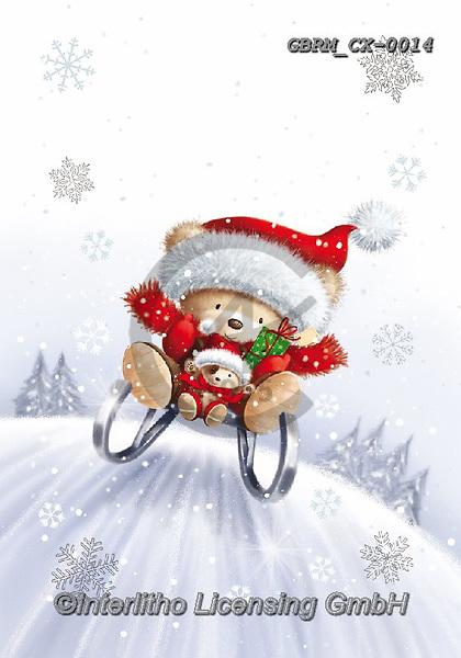 Roger, CHRISTMAS ANIMALS, WEIHNACHTEN TIERE, NAVIDAD ANIMALES, paintings+++++,GBRMCX-0014,#xa#
