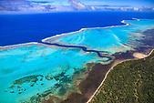 La Faille aux requins, lagon de Poé à Bourail, Nouvelle-Calédonie