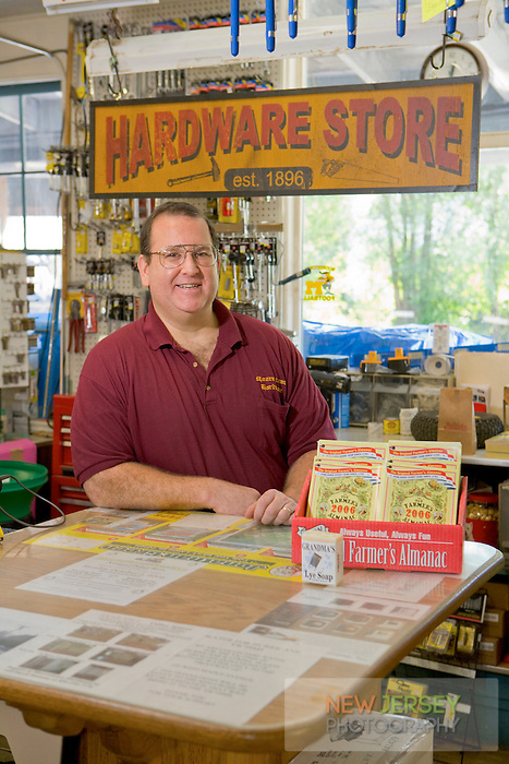 Store owner, Moorestown Hardware Store, Moorestown, New Jersey