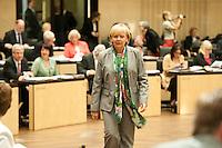 Berlin, Die Ministerpräsidentin von Nordrhein-Westfalen, Hannelore Kraft (SPD) am Freitag (07.06.13) im Bundesrat. Foto: Steffi Loos/CommonLens