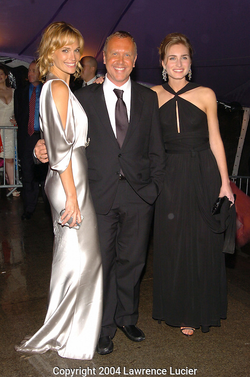 Molly Simms, Michael Kors and Lauren Bush