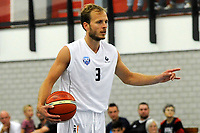 UITHUIZEN = Basketbal, Donar - Aris, voorbereiding seizoen 2017-2018, 02-09-2017,  Donar speler Aron Roye