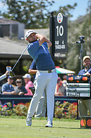 Tyrrell Hatton (ENG) watches his tee shot on 10 during round 1 of the Arnold Palmer Invitational at Bay Hill Golf Club, Bay Hill, Florida. 3/7/2019.<br /> Picture: Golffile | Ken Murray<br /> <br /> <br /> All photo usage must carry mandatory copyright credit (© Golffile | Ken Murray)