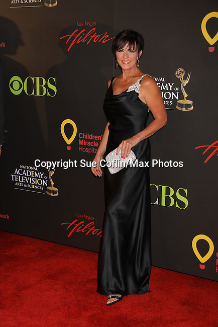 As The World Turns Colleen Zenk - lead actress nominee at the 38th Annual Daytime Entertainment Emmy Awards 2011 held on June 19, 2011 at the Las Vegas Hilton, Las Vegas, Nevada. (Photo by Sue Coflin/Max Photos)