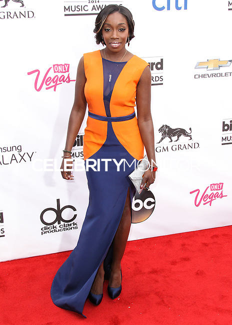 LAS VEGAS, NV, USA - MAY 18: Estelle at the Billboard Music Awards 2014 held at the MGM Grand Garden Arena on May 18, 2014 in Las Vegas, Nevada, United States. (Photo by Xavier Collin/Celebrity Monitor)