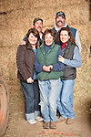 Families gather after Christmas at the Cuneo Ranch in California's Mother Lode. Mike, Christopher, Teresa, Loree, Deirdre.
