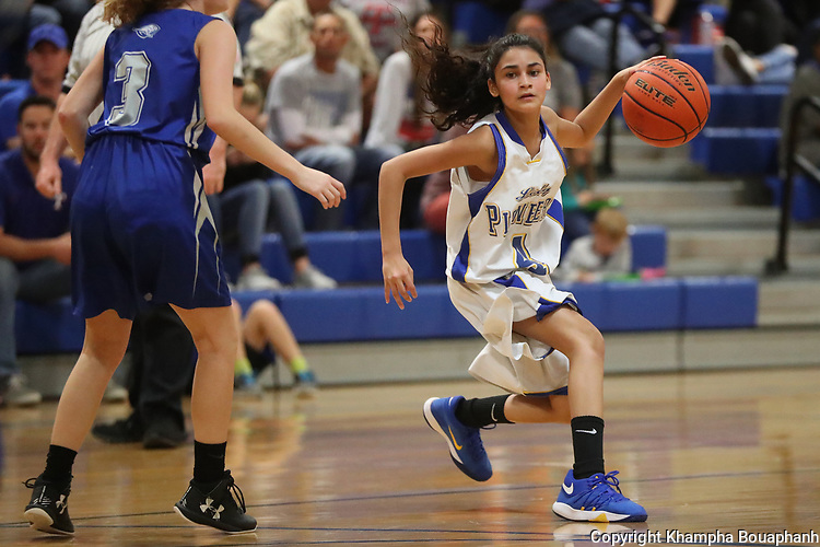 Boswell beats Weatherford 77-39 in girls high school basketball in Fort Worth on Tuesday, November 14, 2017. (photo by Khampha Bouaphanh)