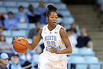02 January 2014: North Carolina's N'Dea Bryant. The University of North Carolina Tar Heels played the James Madison University Dukes in an NCAA Division I women's basketball game at Carmichael Arena in Chapel Hill, North Carolina.