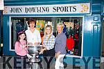 Bernice Dowling-Hoffman, Sarah Jane Hoffman, Barry John Keane, McKenzie Keane Kayrena Dowling celebrate the 60th Anniversary of John Dowlings Shoe's