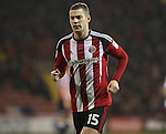 Paul Coutts of Sheffield Utd  during the English Football League One match at Bramall Lane, Sheffield. Picture date: November 22nd, 2016. Pic Jamie Tyerman/Sportimage