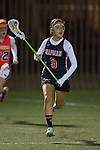 Santa Barbara, CA 02/18/12 - Abbey Messmer (Chapman #9) in action during the Chapman - Florida matchup at the 2012 Santa Barbara Shootout.  Florida defeated Chapman 12-11.