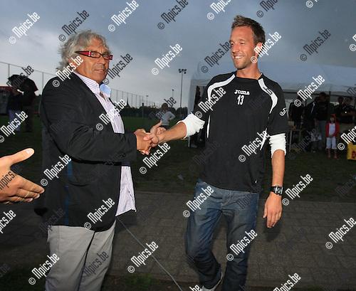 2010-08-07 / Voetbal / seizoen 2010-2011 / Fandag Rupel-Boom / Davy De Smedt wordt voorgesteld..Foto: mpics