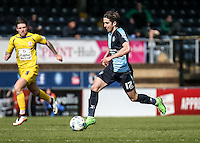 Max Kretzschmar of Wycombe Wanderers during the Sky Bet League 2 match between Wycombe Wanderers and Accrington Stanley at Adams Park, High Wycombe, England on the 30th April 2016. Photo by Liam McAvoy / PRiME Media Images.