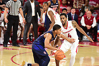 NWA Democrat Gazette/SPENCER TIREY  <br /> Samford vs Arkansas Razorbacks at Bud Walton Arena Friday Nov. 10, 2017.