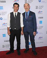 "05 June 2016 - Hollywood, California - Christopher Pakaliatis, J.K. Simmons. Arrivals for the 2016 LA Greek Film Festival Premiere Of ""Worlds Apart"" held at The Egyptian Theater. Photo Credit: Birdie Thompson/AdMedia"