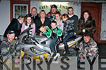 MOTORBIKE; Announcing details of the Poker Run for Jason Lowe at Tohar Bain, Kilmoyley, on Tuesday evening by MCC South West Motor Cycle Club. At the announcement were: Aaron Mccabe, Aidan O'Connor, Emma O'Connor, Katie McCabe, Shannon Lowe, Jimmy Doyle, Eimela Lowe, Liam Counihan, tara Lowe,Mark Toomey, Kevin McCabe, Marie Pietrvcha and Diarmuid Carmody...........   Copyright Kerry's Eye 2008