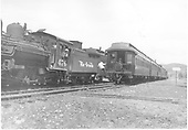 &quot;Trains 115 and 116 meet at Carracas, Colo. 5-46.&quot;<br /> D&amp;RGW  Carracas, CO  Taken by Vollrath, Harold K. - 5/1946