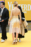 "Lily James<br /> arriving for the ""Yesterday"" UK premiere at the Odeon Luxe, Leicester Square, London<br /> <br /> ©Ash Knotek  D3510  18/06/2019"