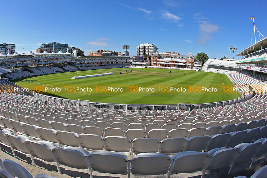 General view of the ground ahead of Middlesex vs Essex Eagles, Royal London One-Day Cup Cricket at Lord's Cricket Ground on 31st July 2016
