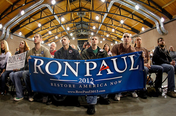 during a campaign stop in Des Moines, Iowa on December 28, 2011. (Christopher Gannon/MCT)