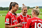12.08.2017, Sportplatz, Hawangen, GER, FSP, Bayern M&uuml;nchen vs FC Z&uuml;rich Frauen, im Bild Lucie Vonkova (Muenchen #13), Verena Fai&szlig;t / Faisst (Muenchen #22), Dominika Skorvankova (Muenchen #18)<br /> <br /> Foto &copy; nordphoto / Hafner