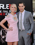 Anna Camp and Skylar Astin attends The Los Angeles Premiere for the seventh and final season of HBO's series TRUE BLOOD held at The TCL Chinese Theater in Hollywood, California on June 17,2014                                                                               © 2014 Hollywood Press Agency
