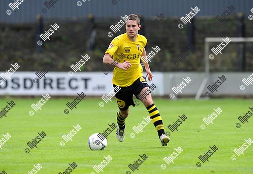 2012-09-23 / Voetbal / seizoen 2012-2013 / Berchem Sport - Rupel-Boom / Matti Van Minnebruggen..Foto: Mpics.be