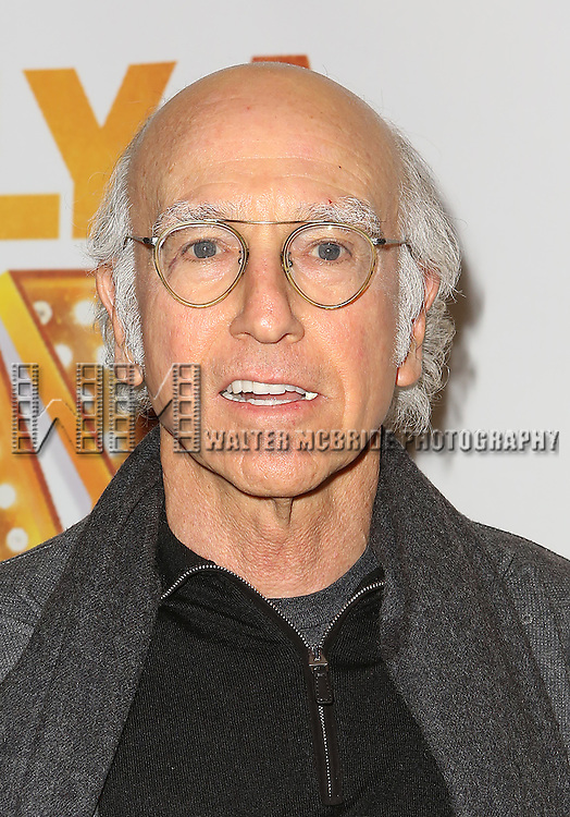 NEW YORK, NY - JANUARY 23:  Larry David attends the Re-Opening Night of 'It's Only A Play'  at the Bernard B. Jacobs Theatre on January 23, 2014 in New York City.  (Photo by Walter McBride/WireImage)