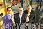 John, Edmond and Ned Harty of Dairymaster celebrating winning the International and Overall awards at the Ernst & Young Entrepreneur awards at their plant in Causeway on Friday.John Edmond and Ned Harty of Dairymaster celebrating winning the International and Overall awards at the Ernst & Young Entrepreneur awards at their plant in Causeway on Friday.