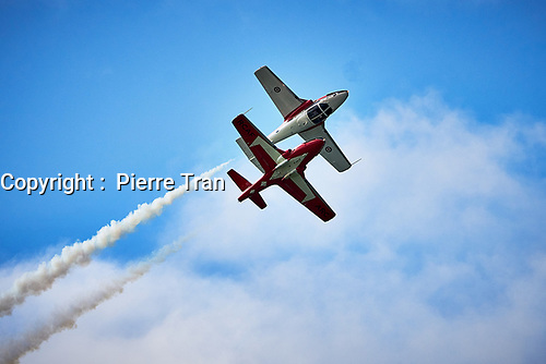 les snowirds<br />  en spectacle, sept. 2019<br /> <br /> <br /> PHOTO : Agence Quebec Presse - Pierre Tran
