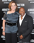 Sigourney Weaver and John Singleton at The Lionsgate Premiere of ABDUCTION  held at The Grauman's Chinese Theatre in Hollywood, California on September 15,2011                                                                               © 2011 DVS/ Hollywood Press Agency