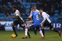 Anthony Grant of Peterborough United in action during Gillingham vs Peterborough United, Sky Bet EFL League 1 Football at the MEMS Priestfield Stadium on 10th February 2018