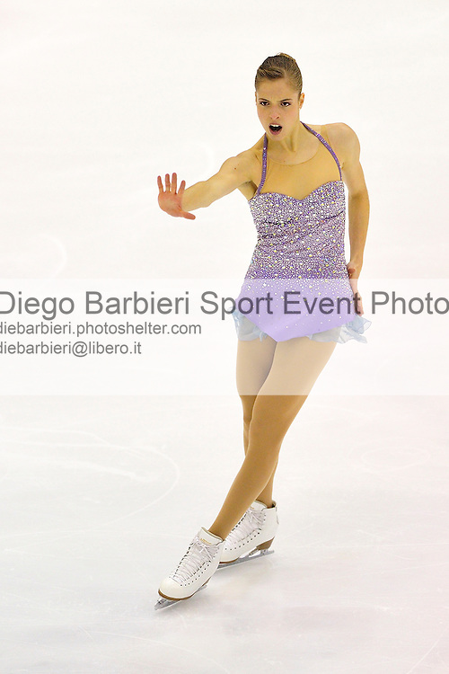 21th december 2012 Ice Figure Skating Italian Championship - Agor&agrave;, Milan<br /> <br /> Carolina Kostner