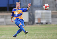 Richard Oxby of Romford - Romford vs Aveley - Pre-Season Friendly Match at Mill Field, Aveley FC - 31/07/10 - MANDATORY CREDIT: Gavin Ellis/TGSPHOTO - Self billing applies where appropriate - Tel: 0845 094 6026