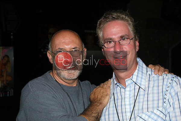 Merrill Shindler and Jack Silver<br />at the Adam Carolla Show launch party. The Highlands, Hollywood, CA. 01-12-06<br />Jason Kirk/DailyCeleb.com 818-249-4998